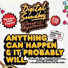 Digital Soundboy 2013 Notting Hill Carnival
