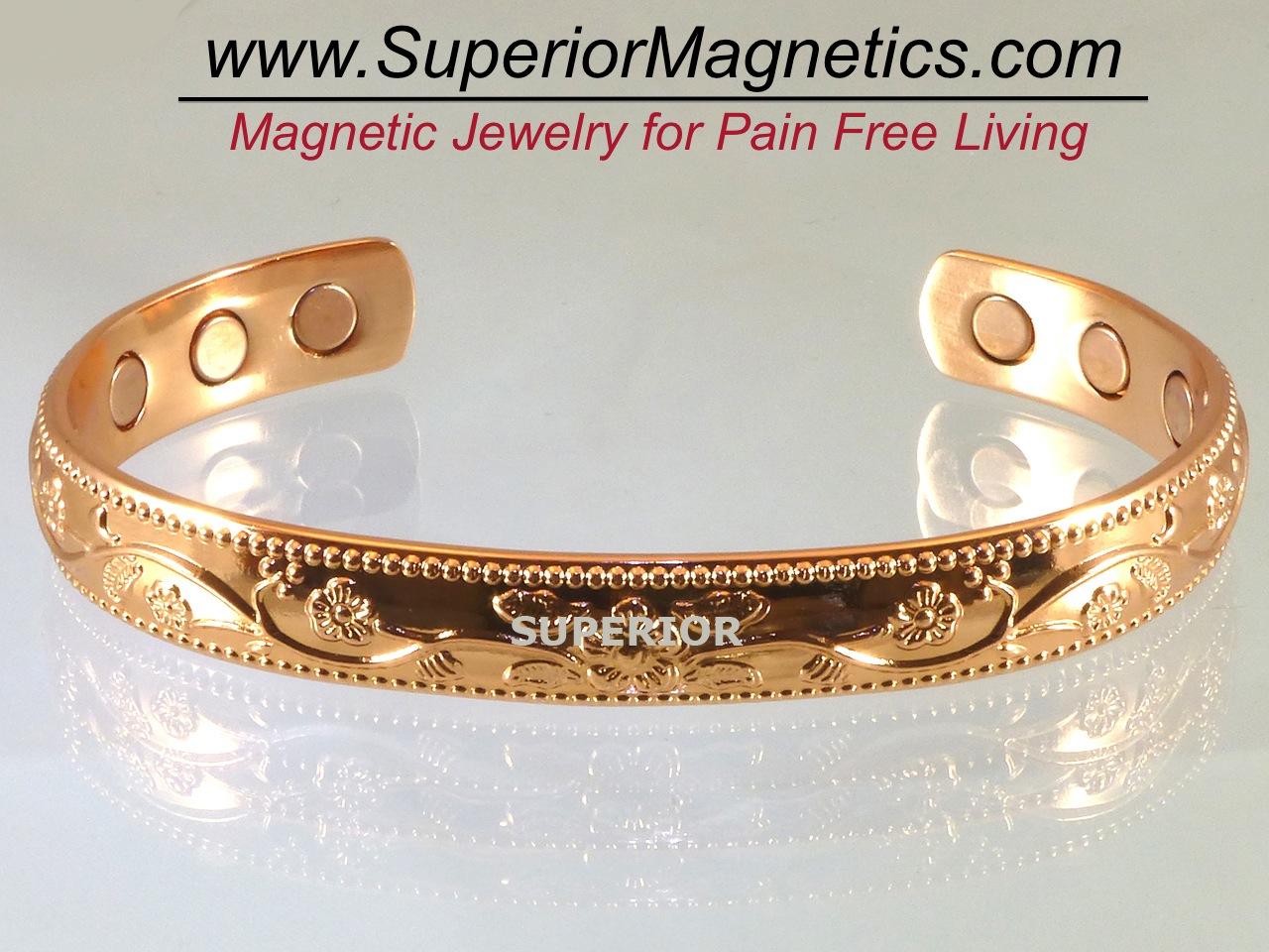 Superior Magnetics Announces New Copper Magnetic Bracelet For Pain Relief