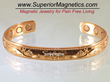 Superior Magnetics Announces New Copper Magnetic Bracelet for Pain...
