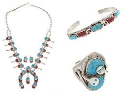 Native American Zuni Jewelry