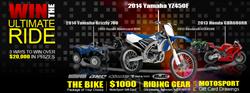 MotoSport.com Ultimate Ride Giveaway