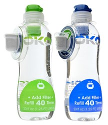 40 Cycle Tap Water Refill Bottles