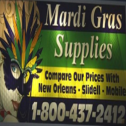 discount mardi gras beads - better prices than New Orleans, Slidell or Mobile