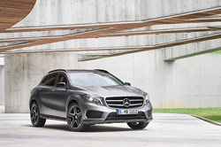 New Mercedes GLA Class