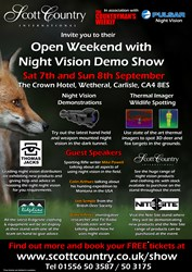 Scott Country International Open Weekend and Night Vision Demo Exhibition
