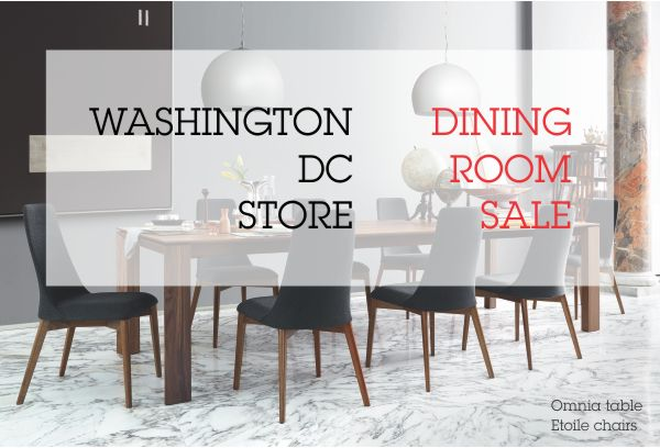 Calligaris Store Washington Dc To Hold Dining Room Furniture Sale