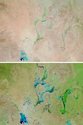 Floodplains Before and After