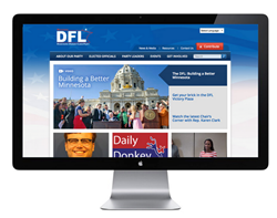 DFL.org Website Design