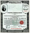 After the attack on Pearl Harbor, savings bonds were stamped United States War Savings Bonds