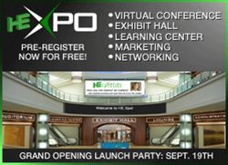 Register now for HE-Xpo Grand Opening and Launch Party, September 19th, 2013