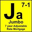 Jumbo 7 Year Adjustable Rate Mortgage
