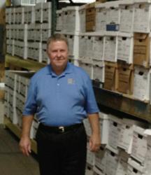 Senator A.G. Crowe at The File Depot