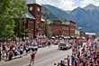 Fourth of July Parade in Downtown Telluride, CO
