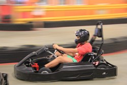 Josh in Party Fantasy Raceway Kart