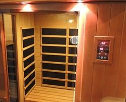 Infrared Sauna at TEAL, Ottawa