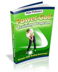 golf strength training how power golf training