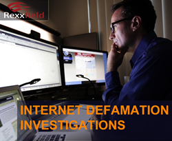 Internet defamation investigations and anonymous blogger tracking