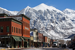 Winter in Telluride, Colorado