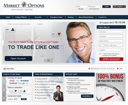 MarketOptions Website