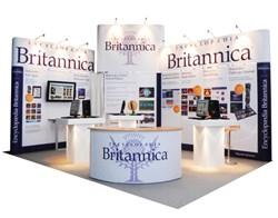 great looking modular exhibition stand