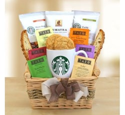 food gifts, coffee baskets, coffee and tea gift baskets, coffee gifts