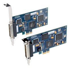 5102e and 5103e PCI Express Synchronous Serial Boards