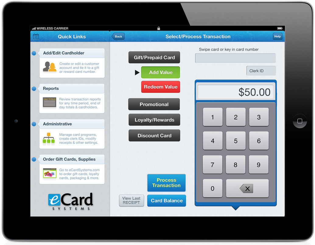 Ecard Systems Introduces First Full Featured Gift Card