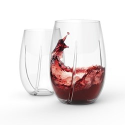 HOST Whirl Aerating Wine Glasses