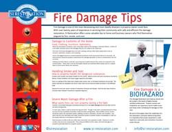 SI Restoration Fire Damage Tips