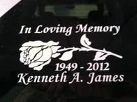 In Loving Memory Sticker