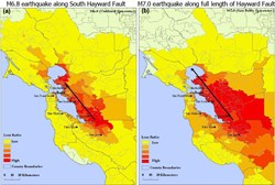 Hayward Fault 6.9-7.0 what if