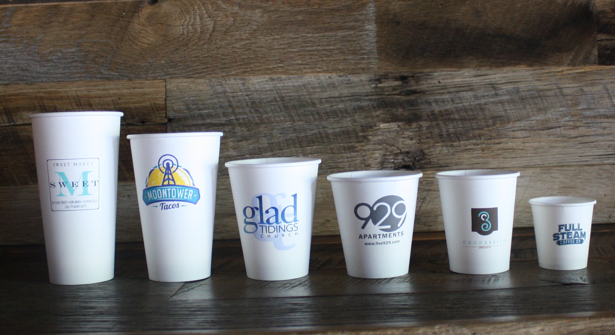 custom printed paper coffee cups Get best value bulk prices on paper coffee cups and water cups easily add your logo, writing or design and customize in full color across a number of styles.