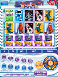 Deep Space Dollars Slot Game