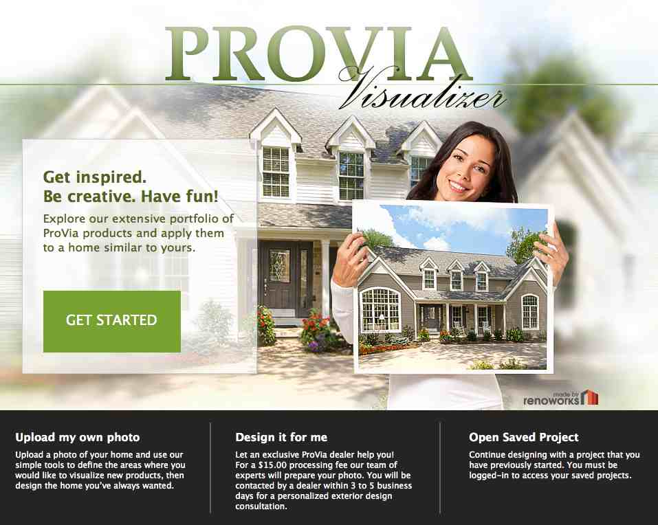Provia unveils new online visualizer for What is provia