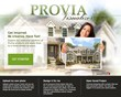 Entry doors, replacement windows, vinyl siding and manufactured stone can be viewed on ProVia's Visualizer