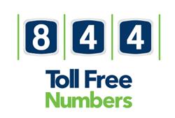 844 toll free numbers custom toll free numbers vanity numbers