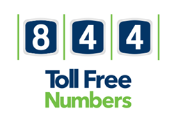 844 toll free numbers custom toll free numbers vanity numbers