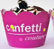 Custom Cupcake Wrappers - Confetti Couture Expands Wholesale Cupcake...