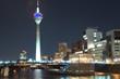 Düsseldorf at night © Düsseldorf Marketing & Tourismus GmbH