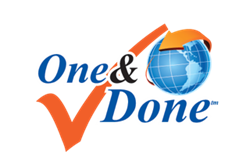 One & Done program logo