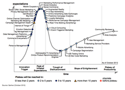 Gartner Hype Cycle for Digital Marketing 2013