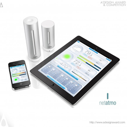Netatmo Urban Weather Station by Alexandre Moronnoz and Adrien Campagnac