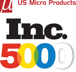 US Micro Products and Inc 5000 Logo