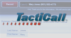 TactiCall Dispatcher Training Software