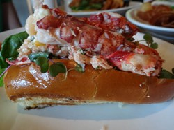 Maine Lobster Roll Recipe - Get Maine Lobster BLT Tailgate Roll