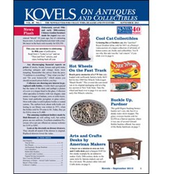 kovel, antiques, collectibles, 40th anniversary, kovels newsletter
