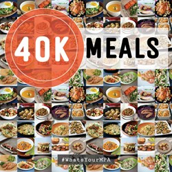 40,000 home-cooked meals