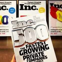 IAS Four-Time Ranking on Inc. 5000 List