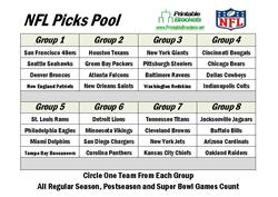 NFL Picks Pool