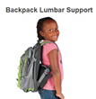 Backpacks Weight Lifted by Core Products Lumbar Support